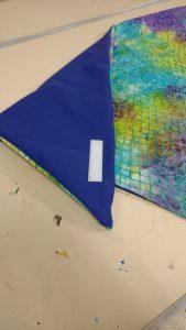 Velcro on garment protector