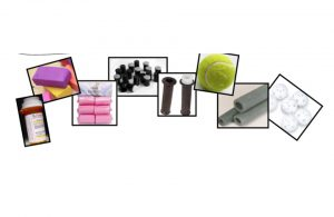 Various materials that can be used to make grippers