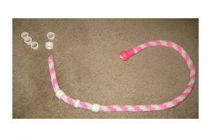 Example of a jump roap with PVC beads