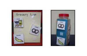Example grocery lists