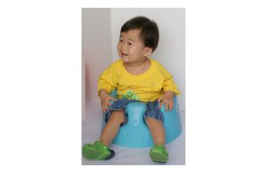 Example of a bumbo seat.
